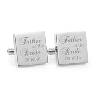 Max & Me Designs: Father of the Bride Cufflinks