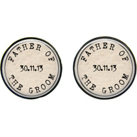 Max & Me Designs: Father of the Groom Cufflinks