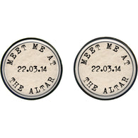 Max & Me Designs: Meet Me At The Altar Cufflinks