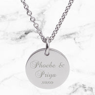 Max & Me Designs: My Kids Personalised Pendant - Silver