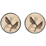 Max & Me Designs: The Bird, the Bee and the Butterfly Cufflinks 2