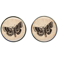 Max & Me Designs: The Bird, the Bee and the Butterfly Cufflinks 3
