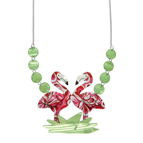 Erstwilder: Flamboyant Flamingo Necklace