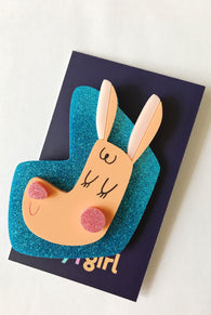 boy|girl : The Bouncy Girl Brooch