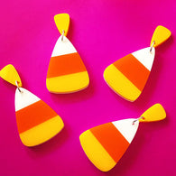 Revere Folie - Candy Corn Love Earrings