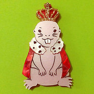 Kimchi & Coconut: Her Majesty LIMITED EDITION Brooch