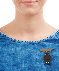 Tatty Devine Vampire Bat Brooch