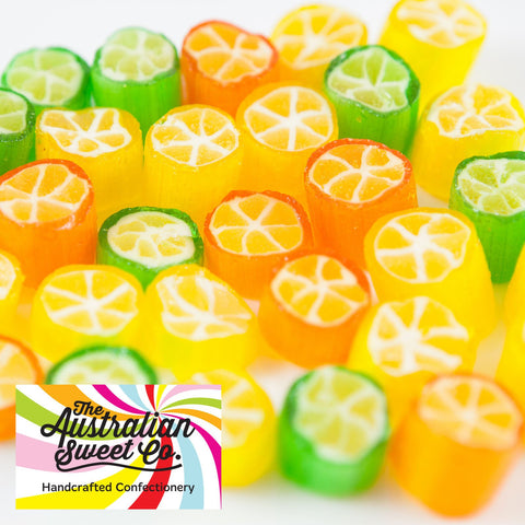 Citrus Fruit rock candy