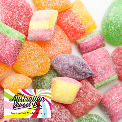 Sour Mix rock candy