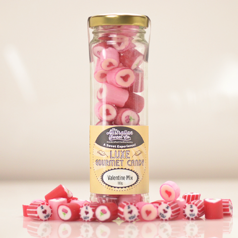 Valentine Love Mini Mix of Sweets with FREE Delivery