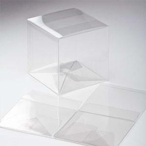 Large 100g clear cube box