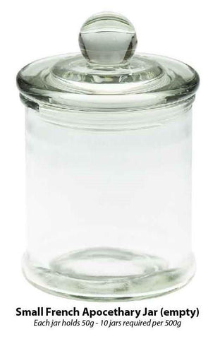 Small 50g French Apocethary jar
