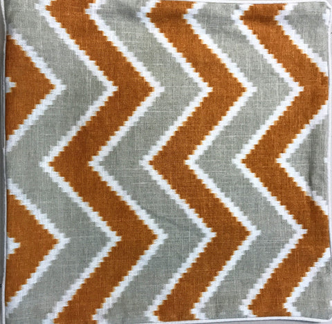 Brown and Gray Zig Zag