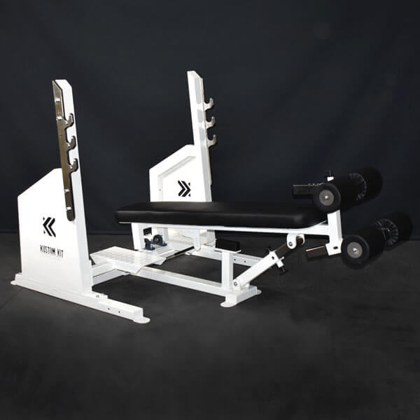 Red Olympic Commercial Adjustable Decline Bench Press UK