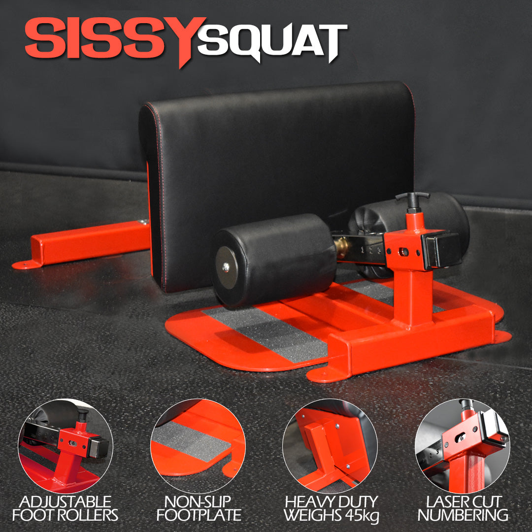 Pink-Sissy-Squat-Machine