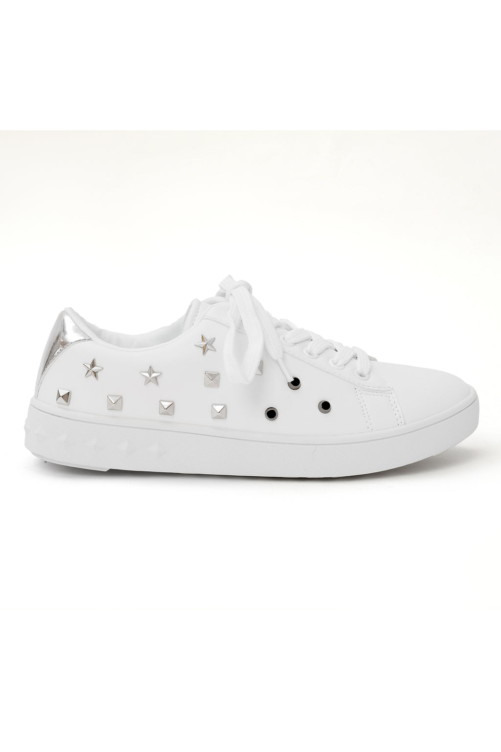 CHUNKY STAR KICKS -WHITE