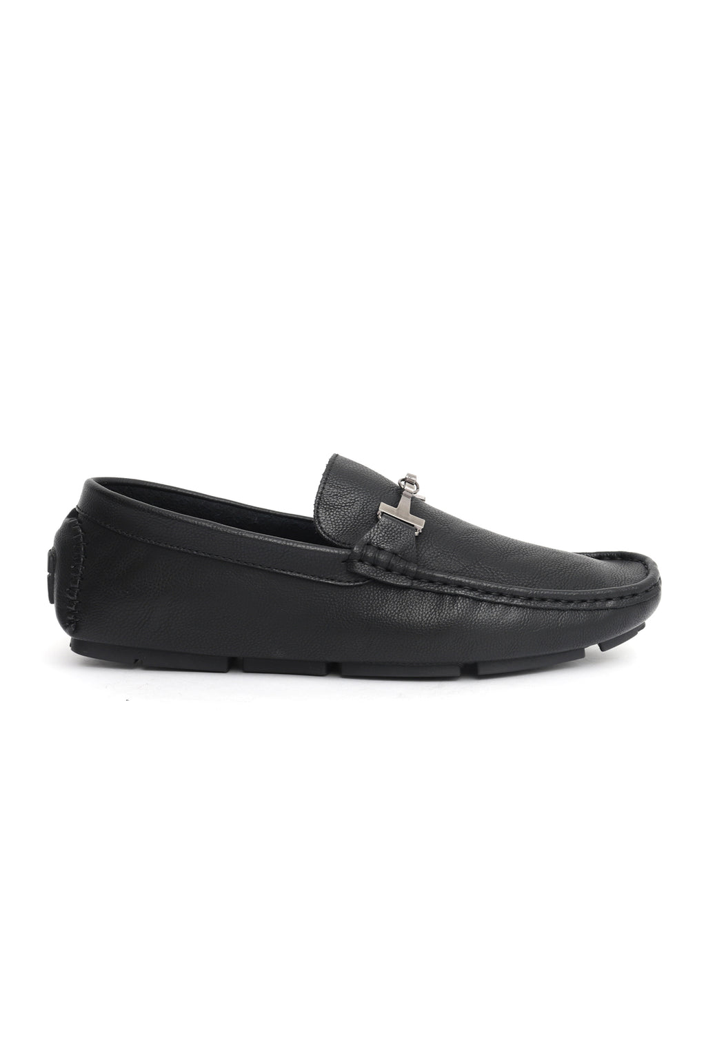 CROSS GRAIN LOAFERS -BLACK