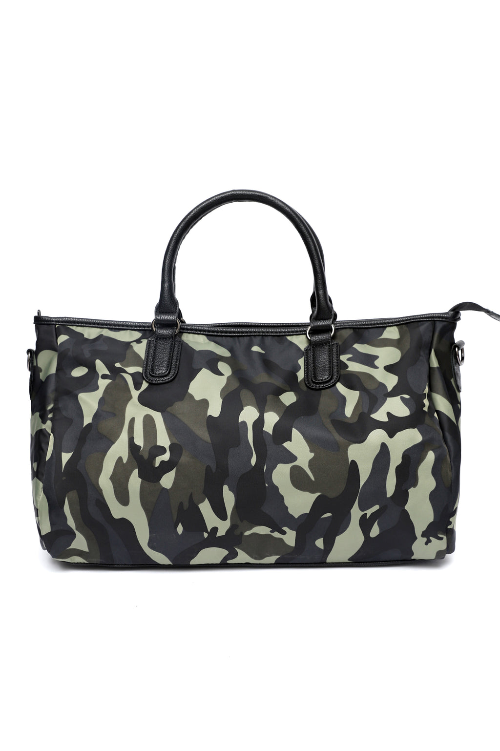 SPORTS STRIPE DUFFEL-CAMO