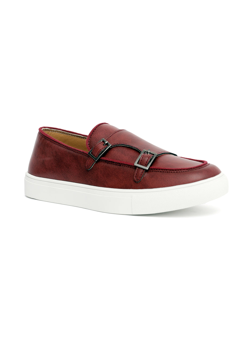 DOUBLE MONK FLATS-RED