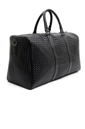 DUFFEL BAG-BLACK