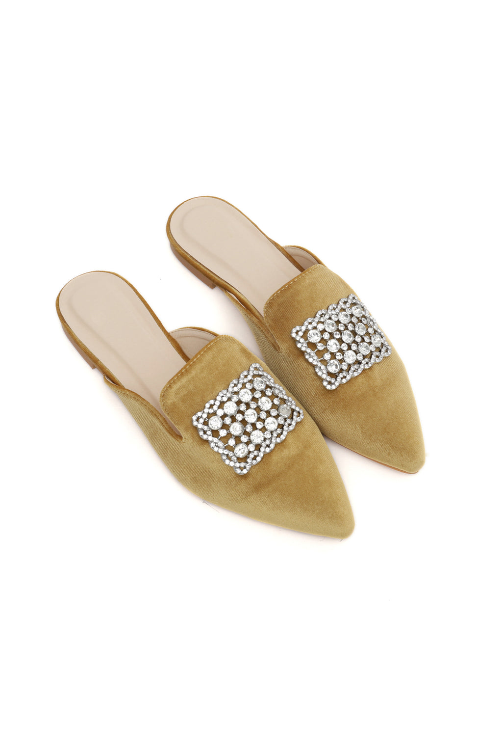 DIAMANTE MULES-GOLD