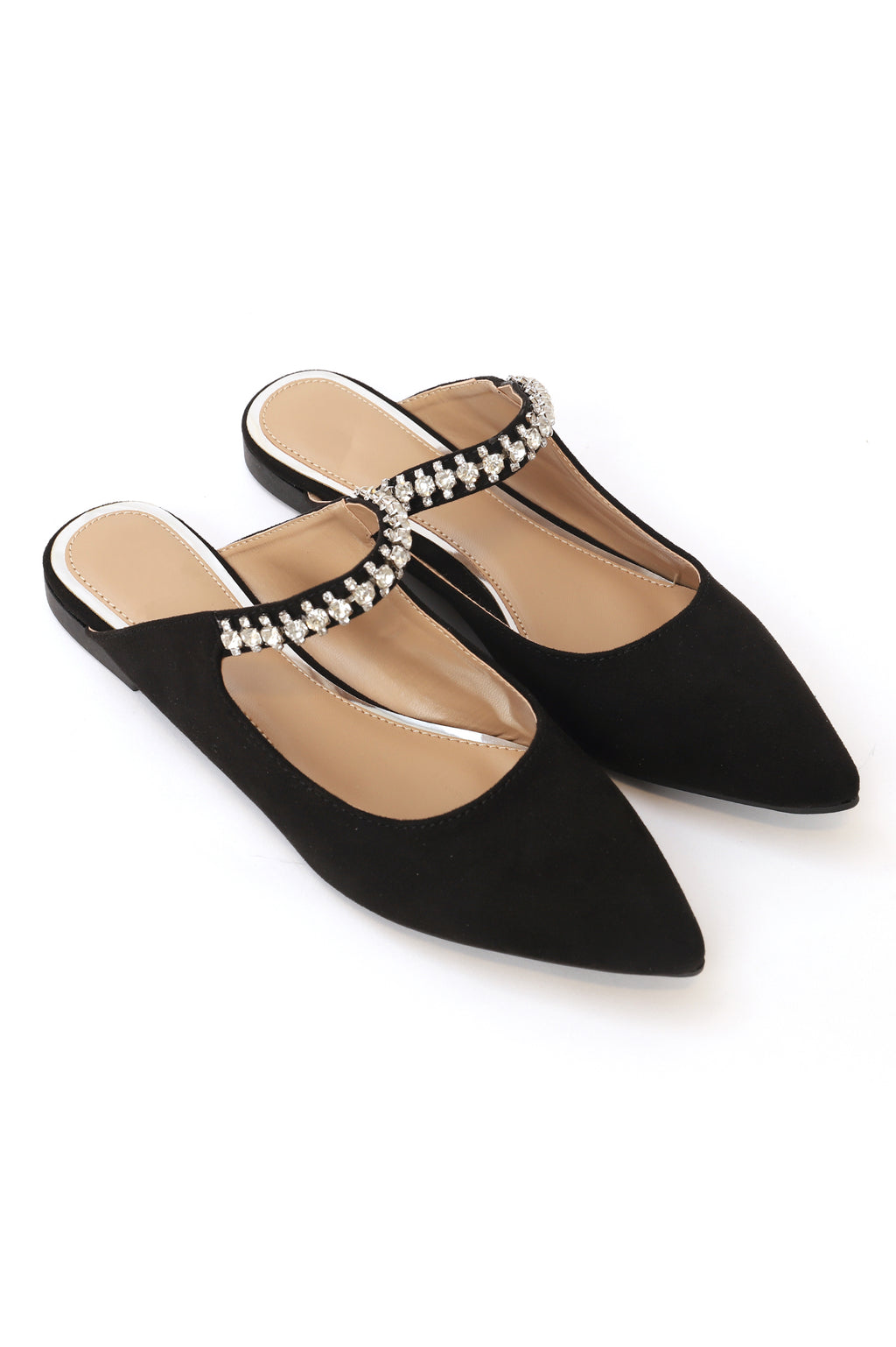 ALLURE MULES-BLACK