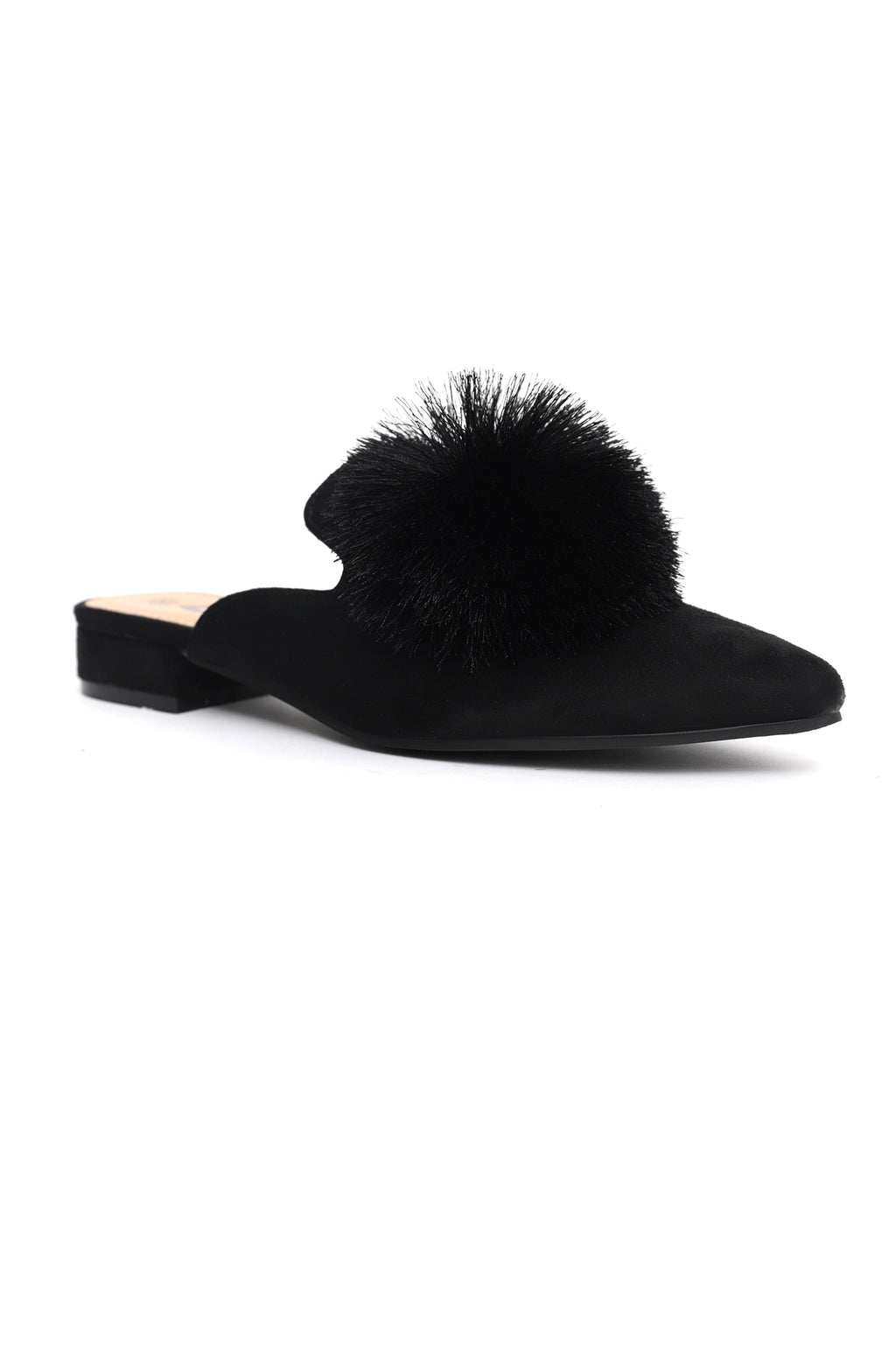 LOTUS MULES-BLACK