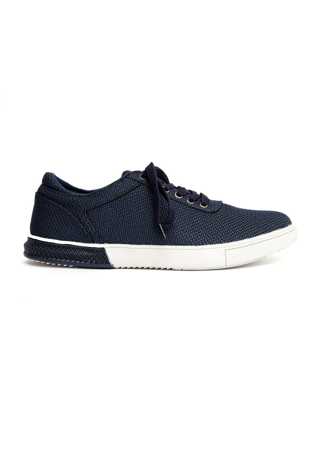 KNIT SNEAKERS-NAVY