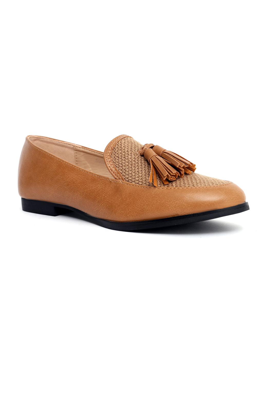 WEAVE LOAFERS-CAMEL