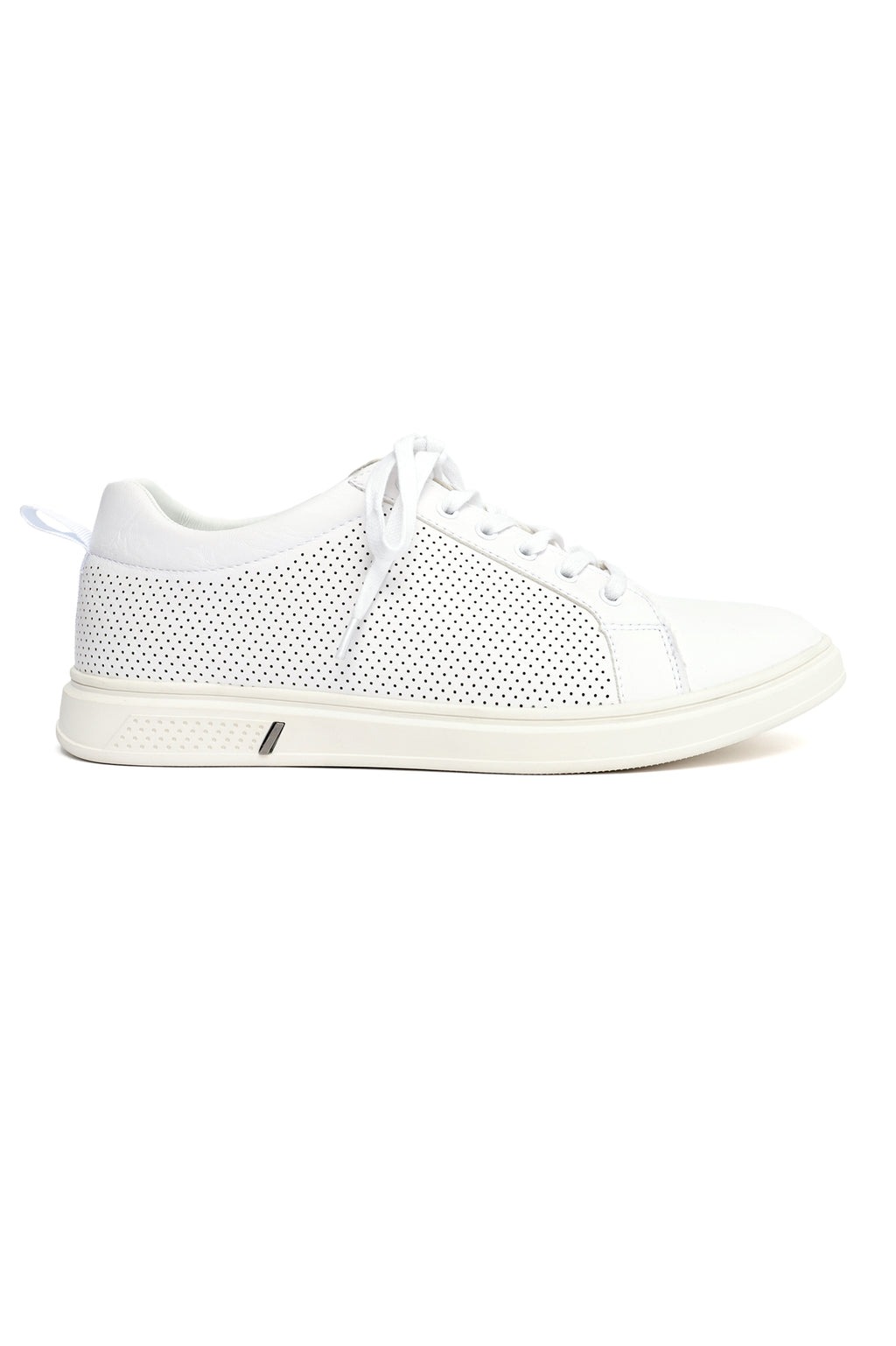 PERFORATED SNEAKERS-WHITE