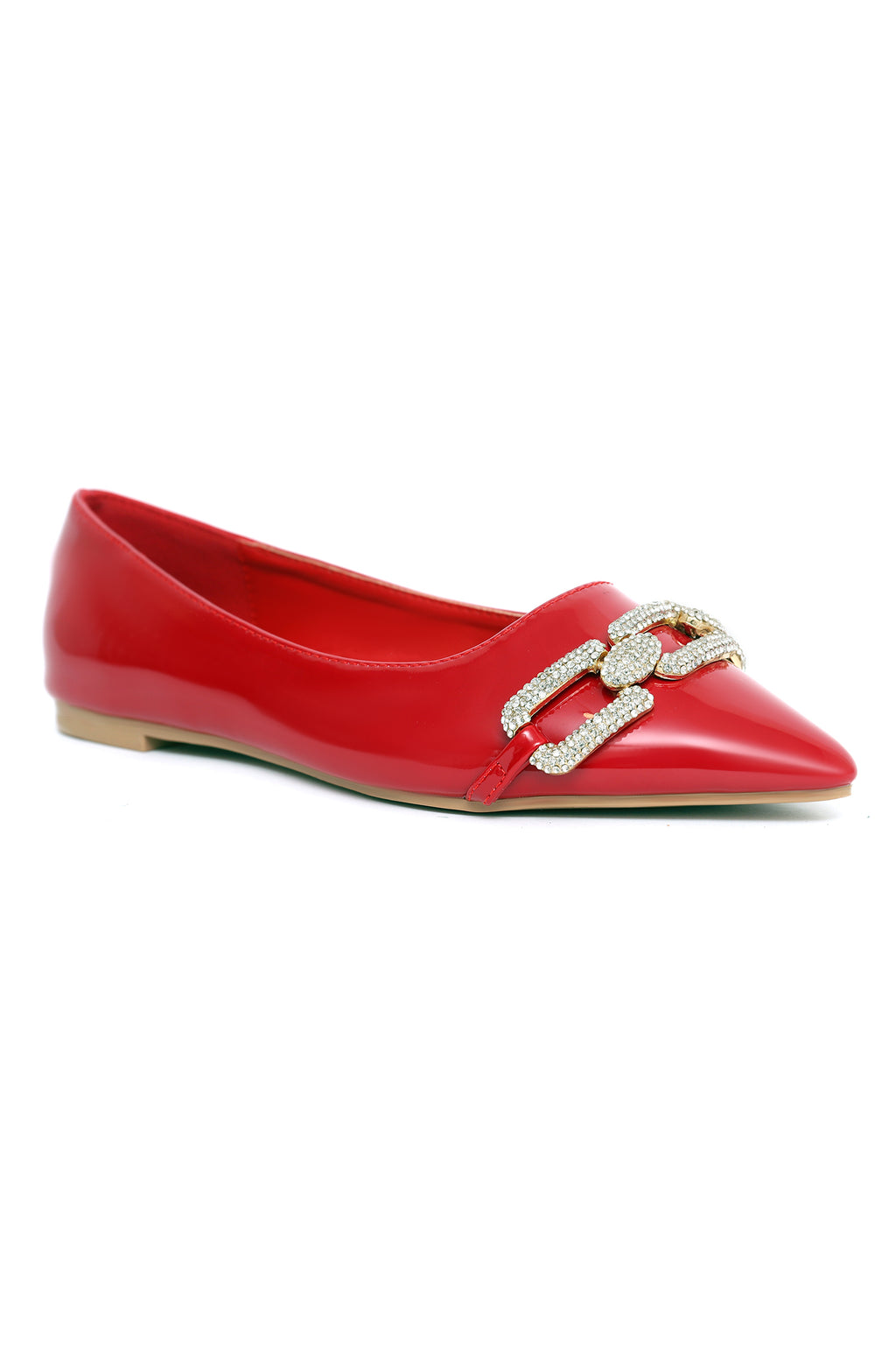 CRYSTAL LINK PUMPS-RED