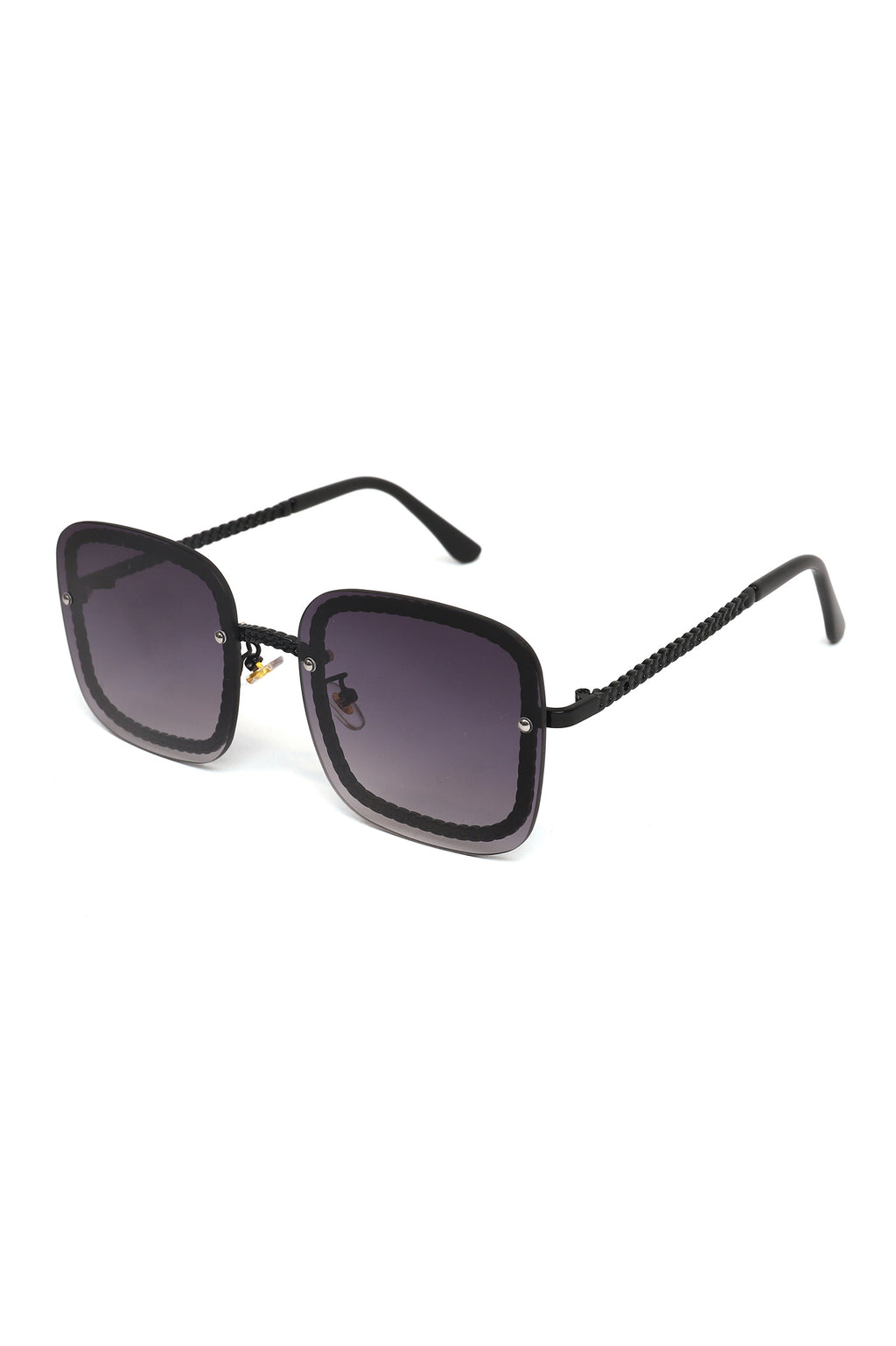 CHAIN RIM SHADES  -BLACK