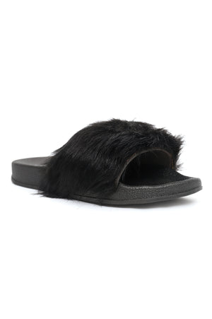 FUZZY SLIDES-BLACK