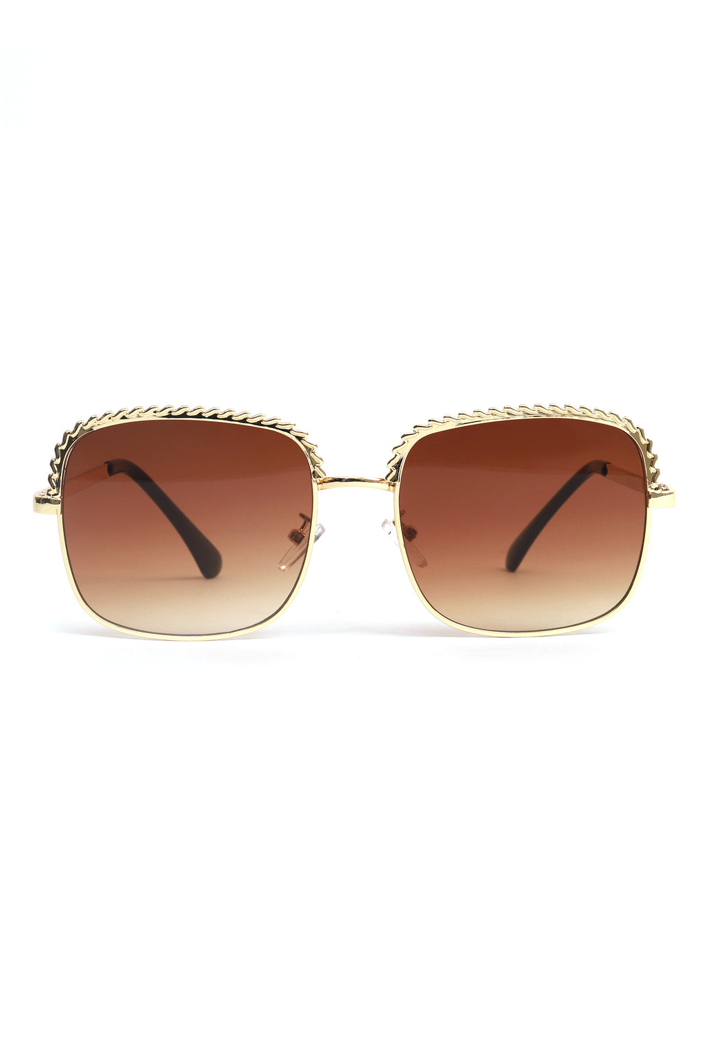 BEVELED SUNNIES-COFFEE