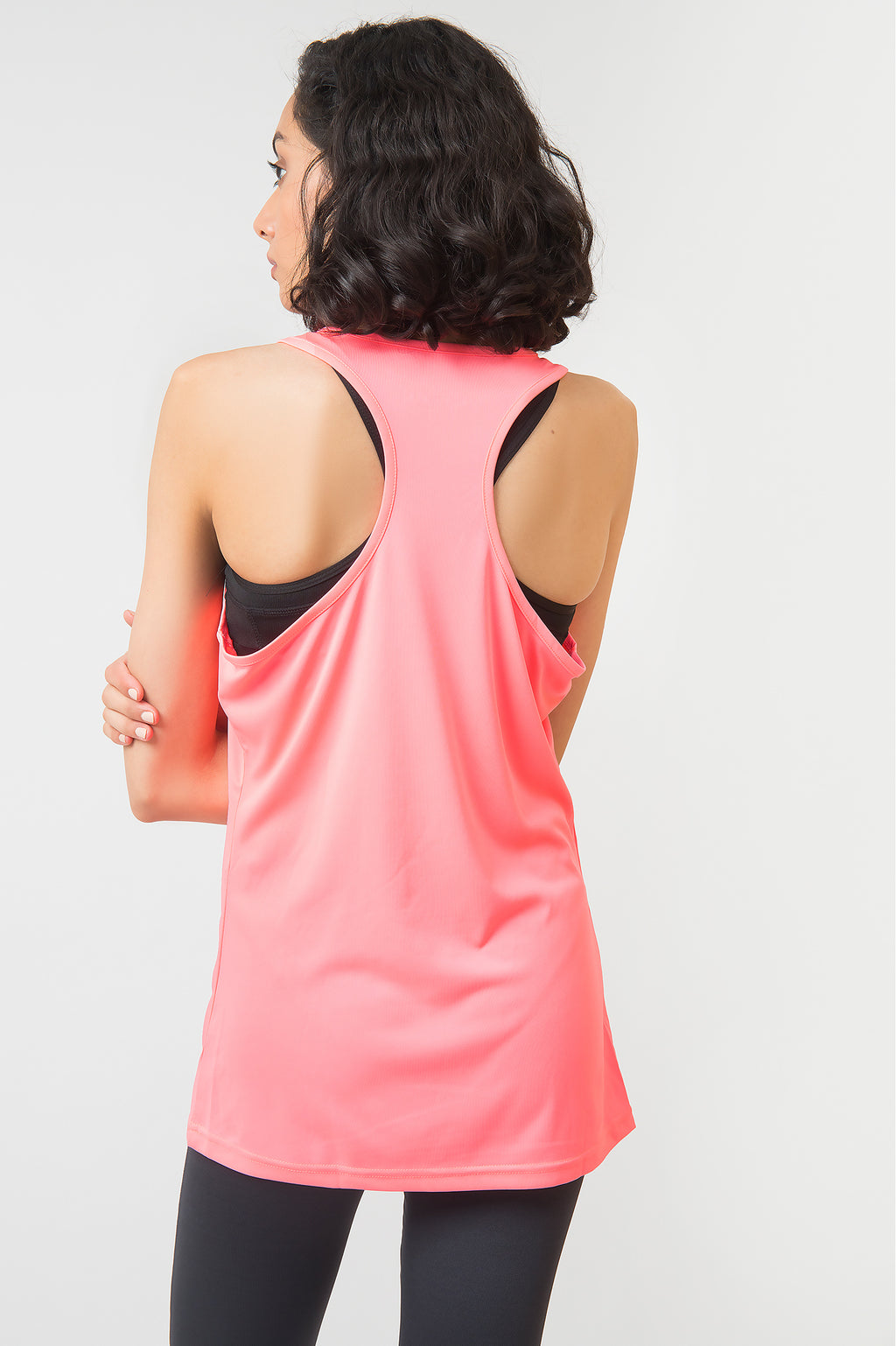 SPORTS GRAPHIC TANK-PINK