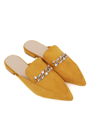 CHAINED MULES -YELLOW