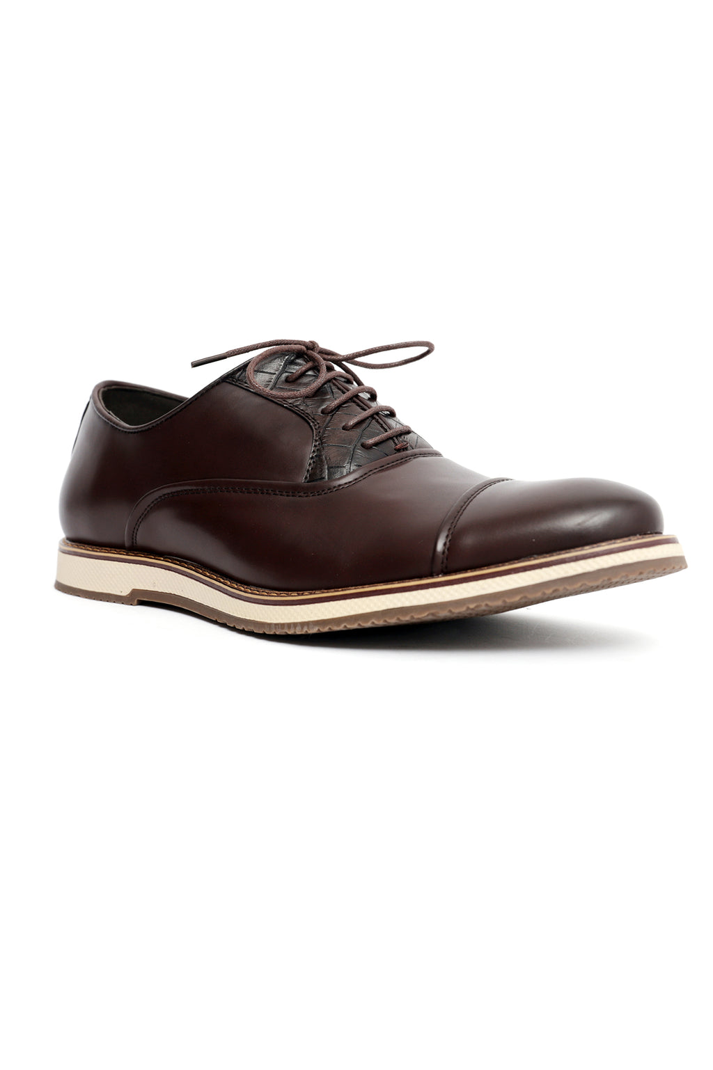 OXFORD LACE UPS-COFFEE