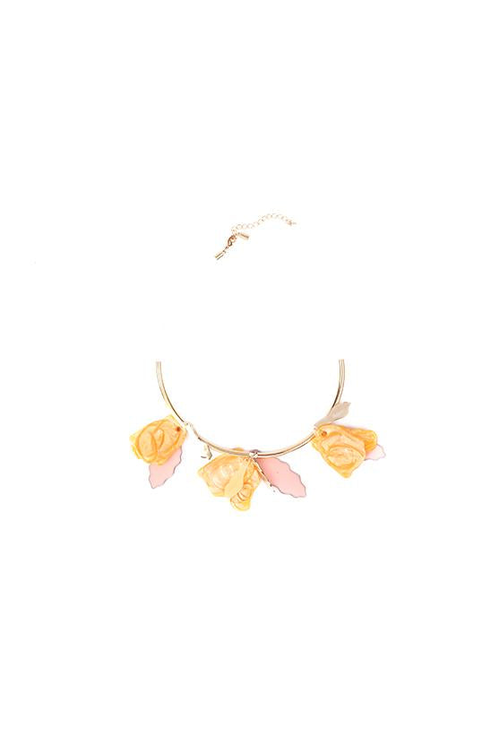 CHUNKY NECKLACE-PINK