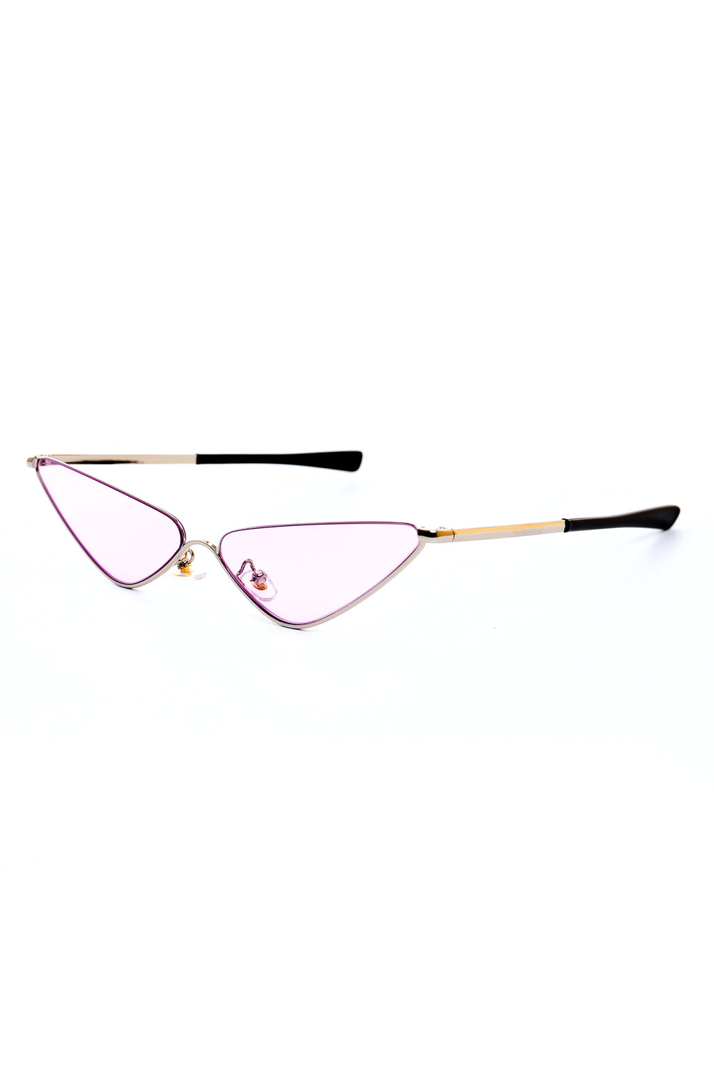CAT EYE GLASSES-PURPLE