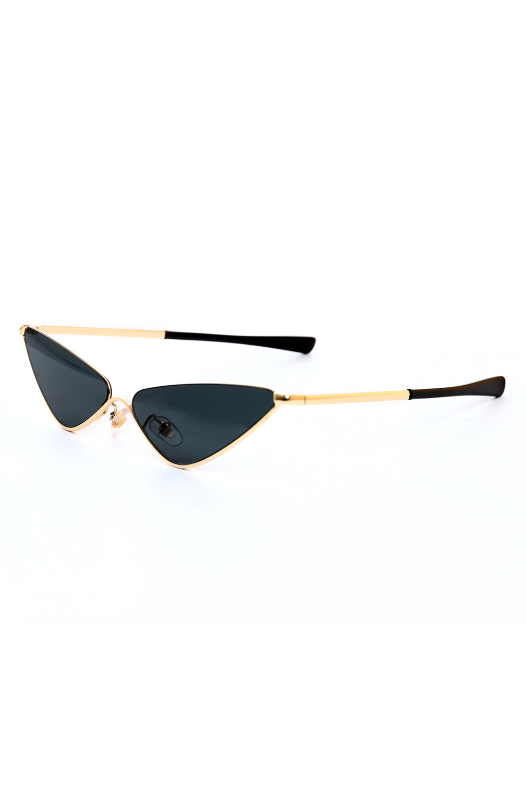 CAT EYE GLASSES-BLACK