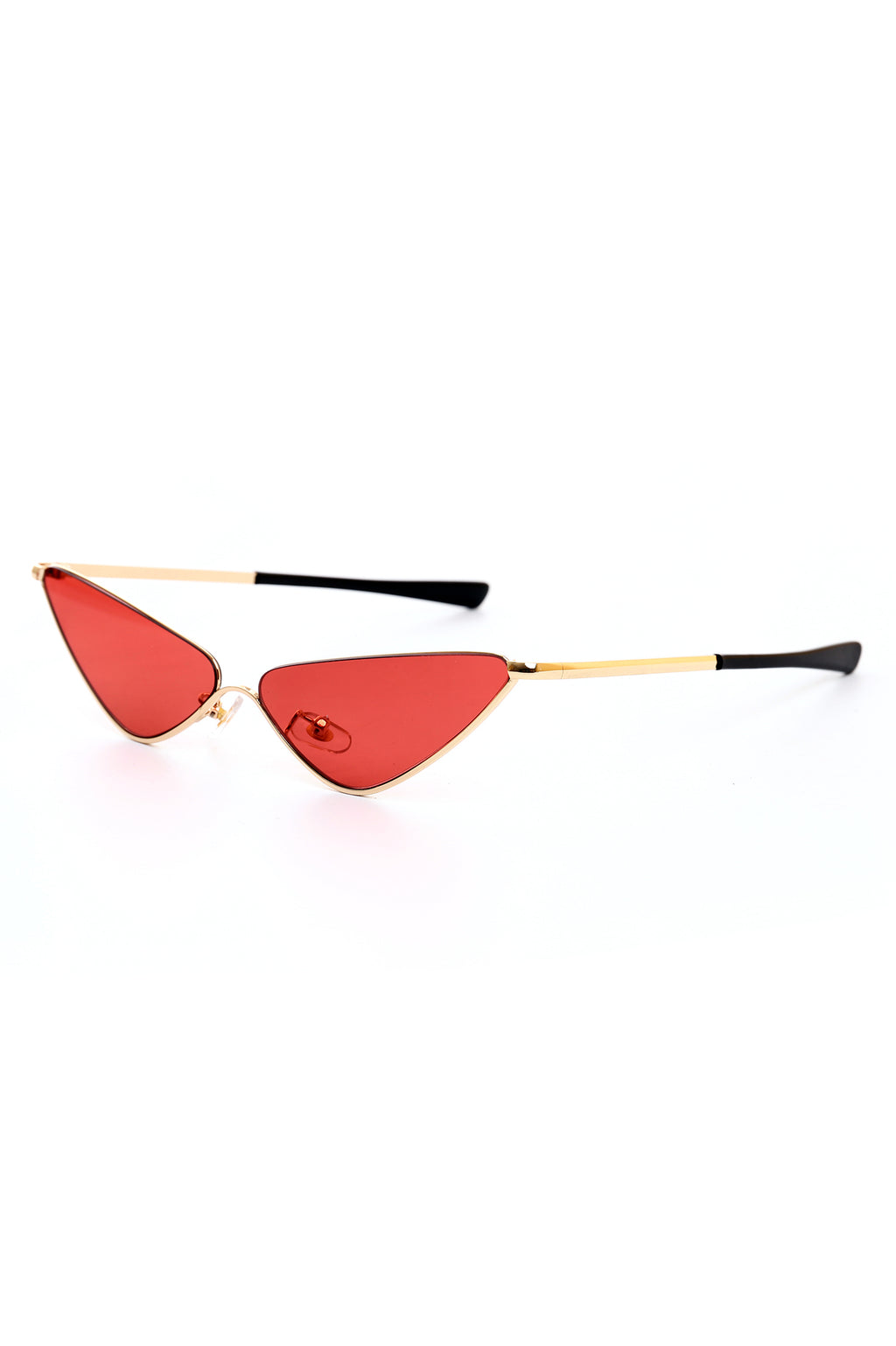 CAT EYE GLASSES-RED