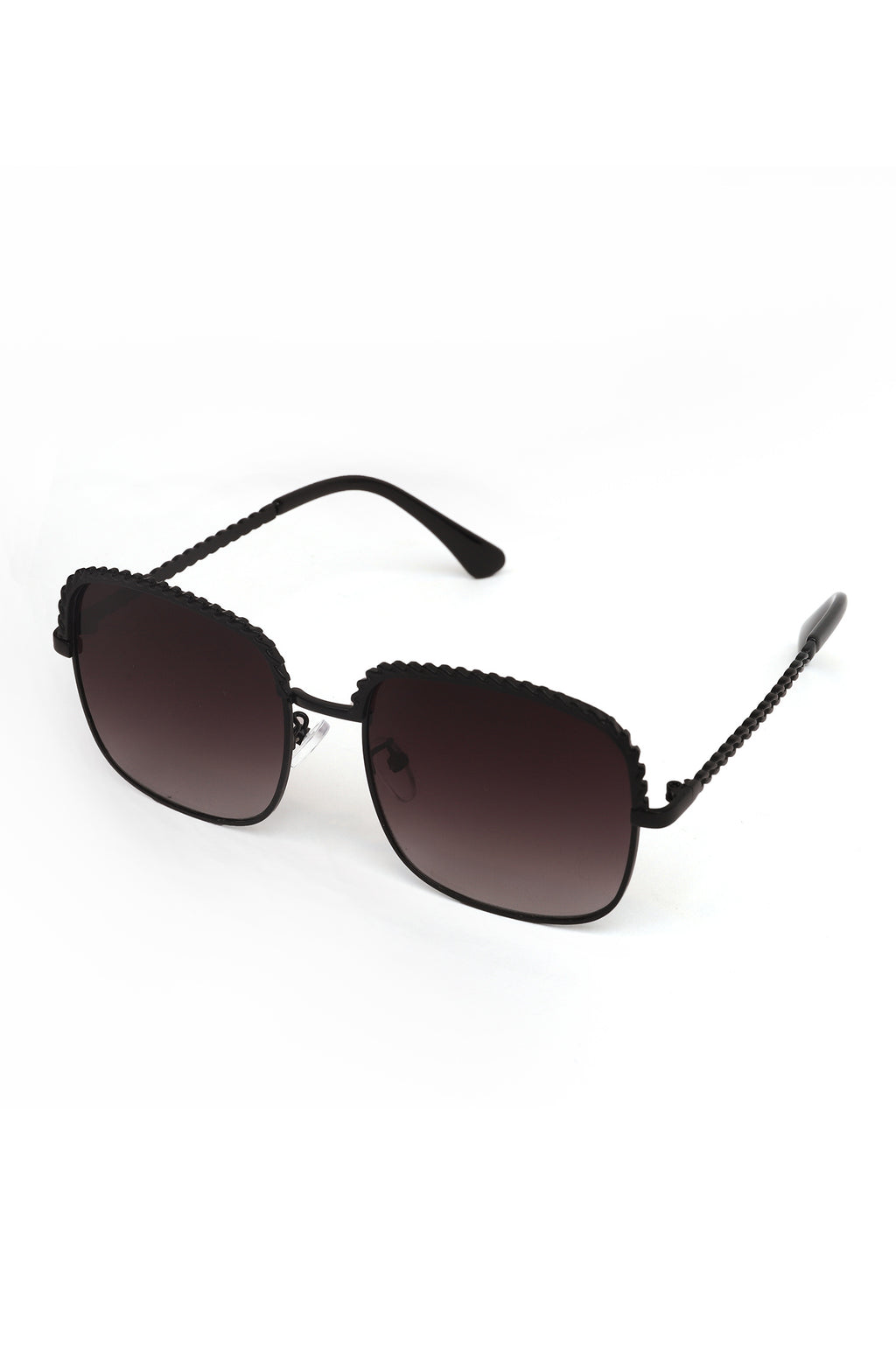 BEVELED SUNNIES-BLACK