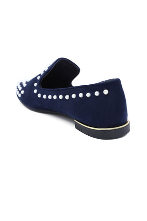 PEARLY SLIP ONS-NAVY