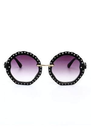 DAZZLE SUNGLASSES-BLACK