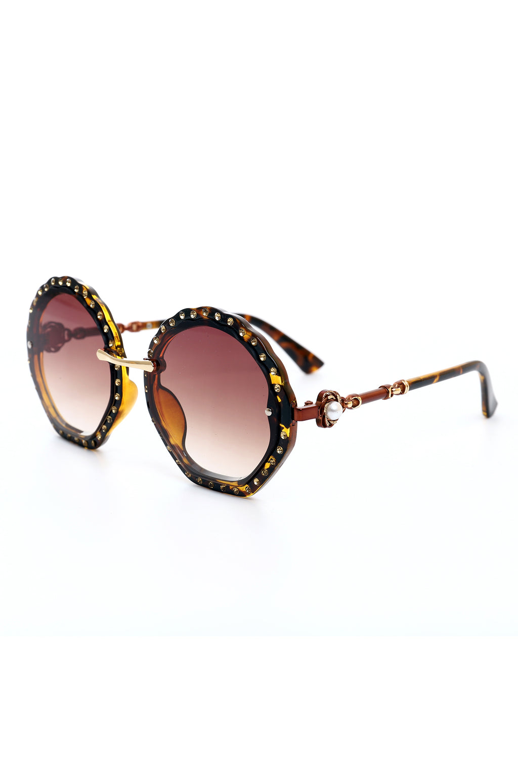 DAZZLE SUNGLASSES-COFFEE