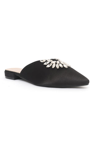 ENCHANTED MULES-BLACK