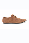 SUEDE DERBY SHOES-KHAKI