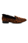 LEOPARD FLATS-BROWN