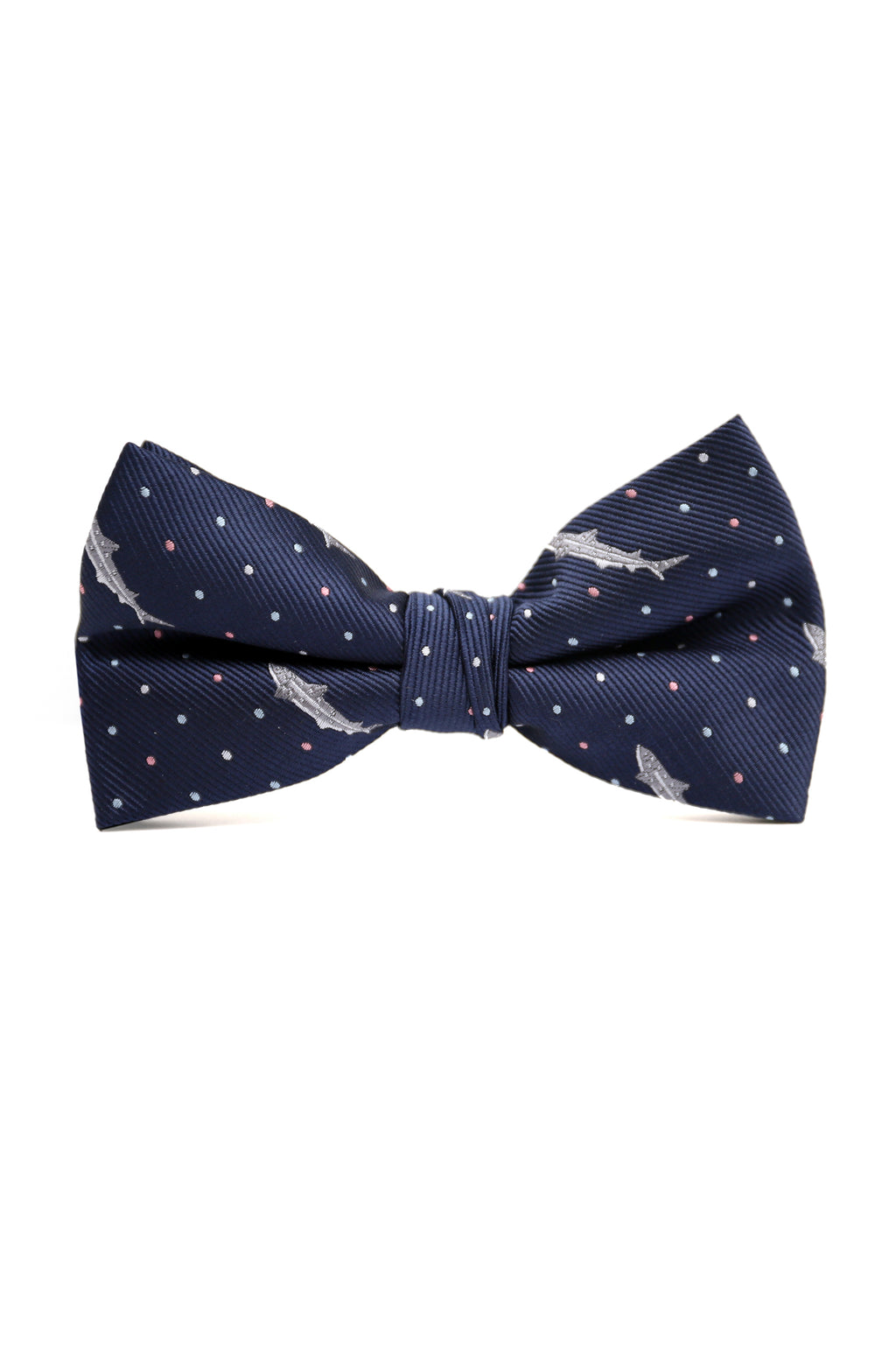 SHARK BOW TIE-NAVY