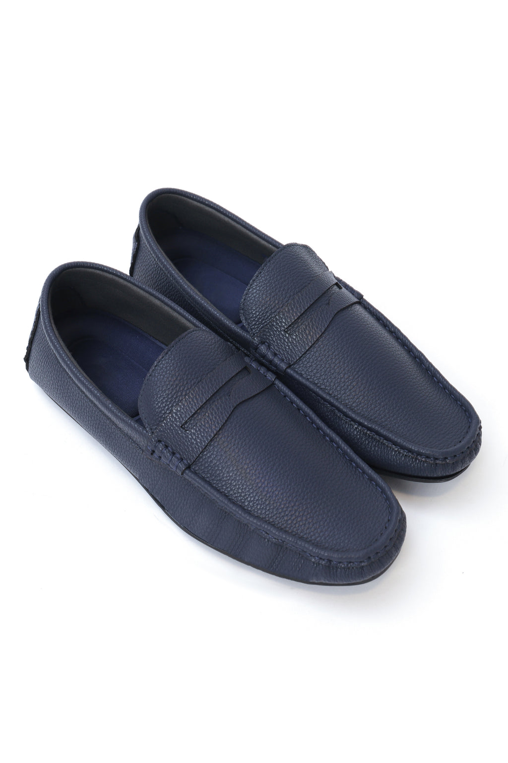 PENNY LOAFERS -NAVY